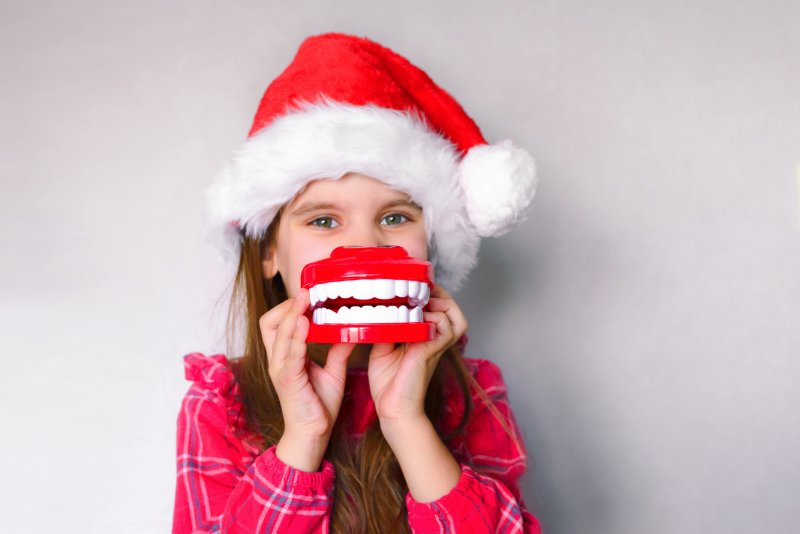 Holiday smile