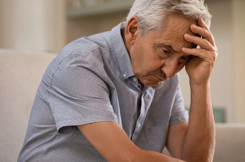 Man with Alzheimer's Disease